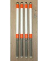 Pole marker, complete set